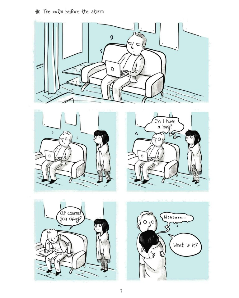 It's Hard to be a Girl, girl problems comic